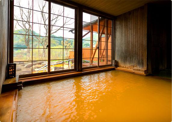 景色を楽しめる内風呂